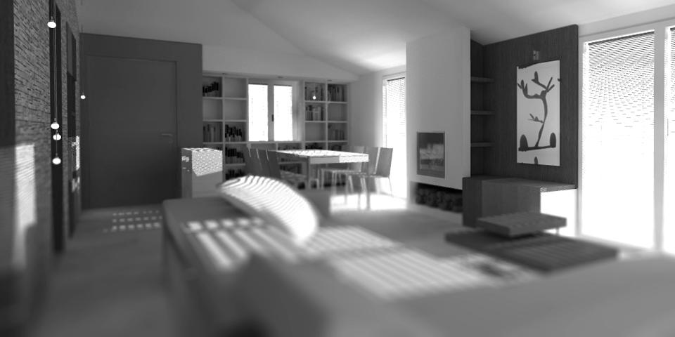 Progetto per un appartamento a Dorgali