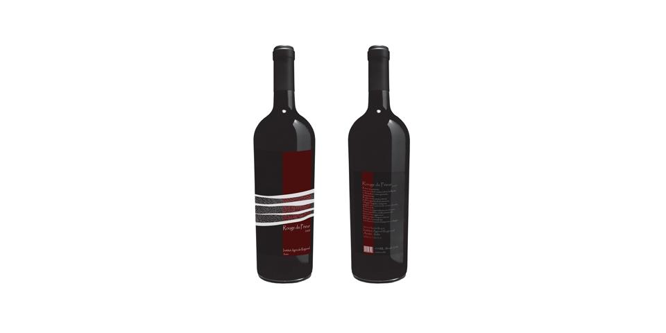 Etichette Dei Vini Prodotti Dall'Institut Agricole Regional