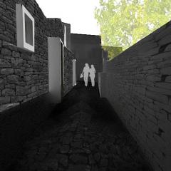 progetto di recupero urbano 02 | dorgali